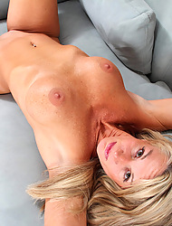 Busty milf deep drills will not hear of pussy up will not hear of favorite vibrator