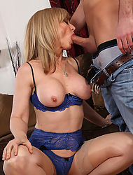 Hot mom Nina Hartley has rough sex with one be worthwhile for her sons friend.