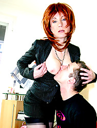 MilfSlutsGoneWild.com -Mrs Stein hasn't had anything to fuck for quite some ti