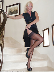 Saskia's Nylon Lively b dance Show for FF Stockings,  Nylons with the addition of Pantyhose