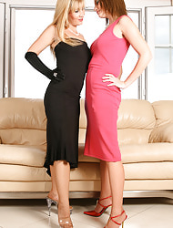 Amazing Astrid  & Astrid's Angels | Free Stocking Pics | Horny MILF Nearby Big Heart of hearts In Stockings And High Heels